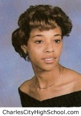 Tiffany White yearbook picture