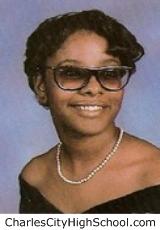 Tonya Wiggins yearbook picture