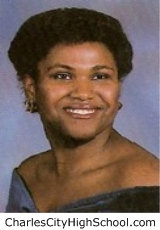 Evelyn Williams yearbook picture