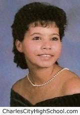 Victoria Wynn yearbook picture