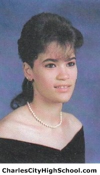 Jennifer Adkins yearbook picture