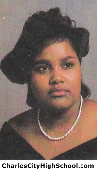 Carmen Banks yearbook picture