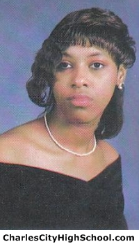 Lavonne Bradby yearbook picture