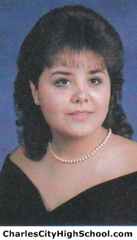 Angela Brime yearbook picture