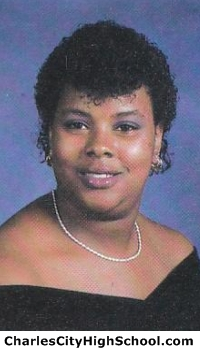 Christine Jefferson yearbook picture