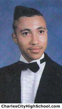 Jefferson James yearbook picture