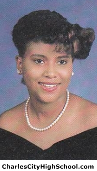 Felicia Johnson yearbook picture