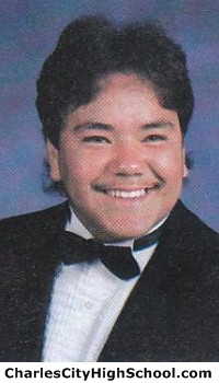 Manuel Montez yearbook picture