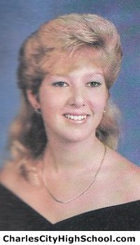 Brandy Swords yearbook picture