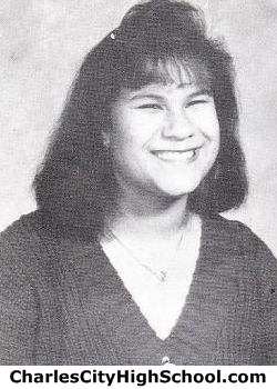 Christina Adkins yearbook picture