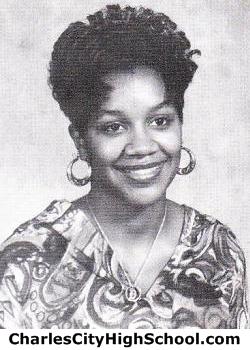 Darlene Adkins yearbook picture