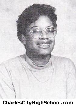Carolynnete Bradby yearbook picture