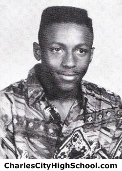 Shawn Charity yearbook picture