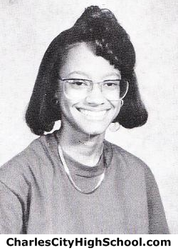 Stacy Charity yearbook picture