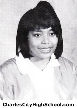 Natarcha Jones yearbook picture