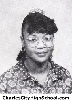 Yolanda Mens yearbook picture