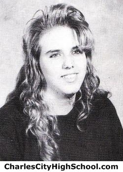 Charlotte Shanks yearbook picture