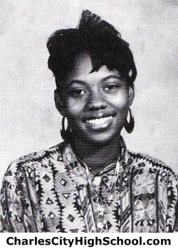 Vickie Smith yearbook picture