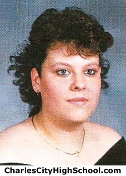 Leslie Adkins yearbook picture