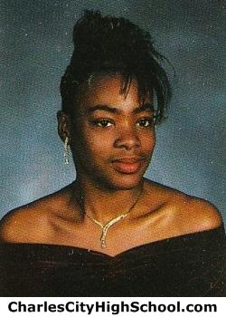 Kimbery Bassett yearbook picture