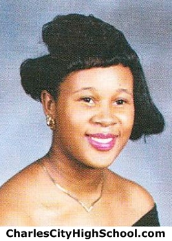 Wanda Baylor yearbook picture