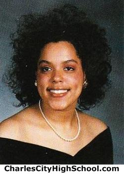 Tonya Cotman yearbook picture