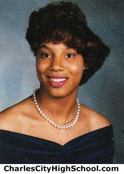 Gloria Gatling yearbook picture
