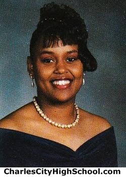 Modestine Greene yearbook picture