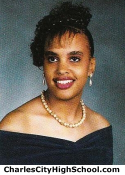 Tracey Hairston yearbook picture