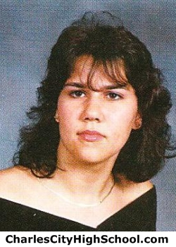 Melissa Jefferson yearbook picture