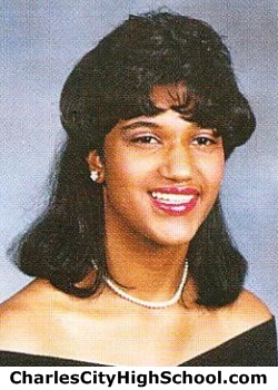 Michelle Johnson yearbook picture