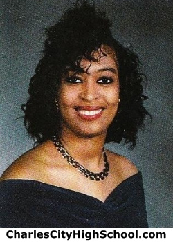 Tia Johnson yearbook picture