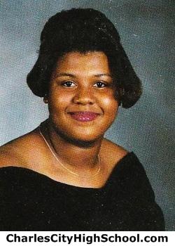 Lasonica Jones yearbook picture