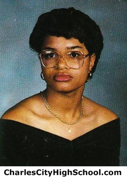 Kendra Paige yearbook picture