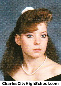 Sherry Snyder yearbook picture