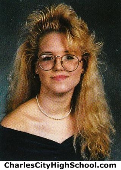 Heather Sweeney yearbook picture