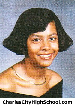 Dana Wallace yearbook picture