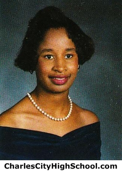 Miarka Wallace yearbook picture