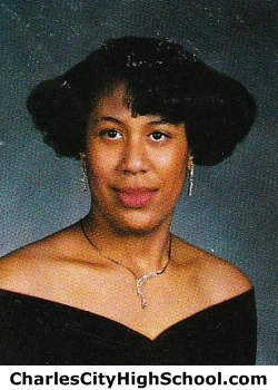 Angela Washinton yearbook picture