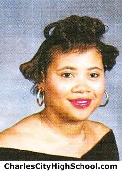 Shanita Wyatt yearbook picture