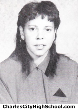 Cindy Adkins yearbook picture