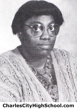 Cheryl Hill yearbook picture