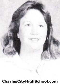 Mona Ray yearbook picture