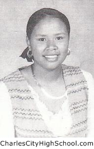 Shauntele Adkins yearbook picture