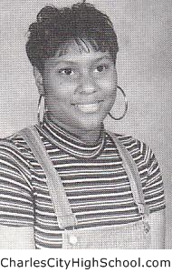 Monica Ghee yearbook picture