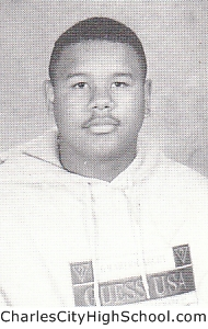 Chad Harris yearbook picture