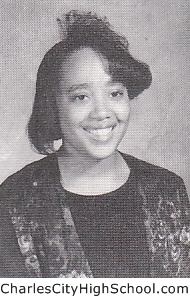 Shironda Johnson yearbook picture