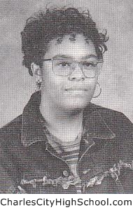 Kenyatta Jones yearbook picture