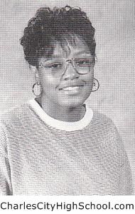 Tamisha Jones yearbook picture