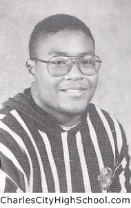Floyd Miles yearbook picture